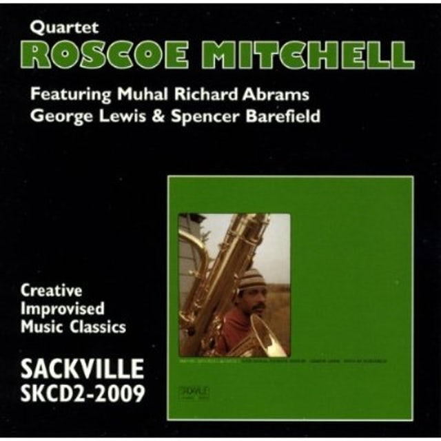 Roscoe Mitchell QUARTET CD