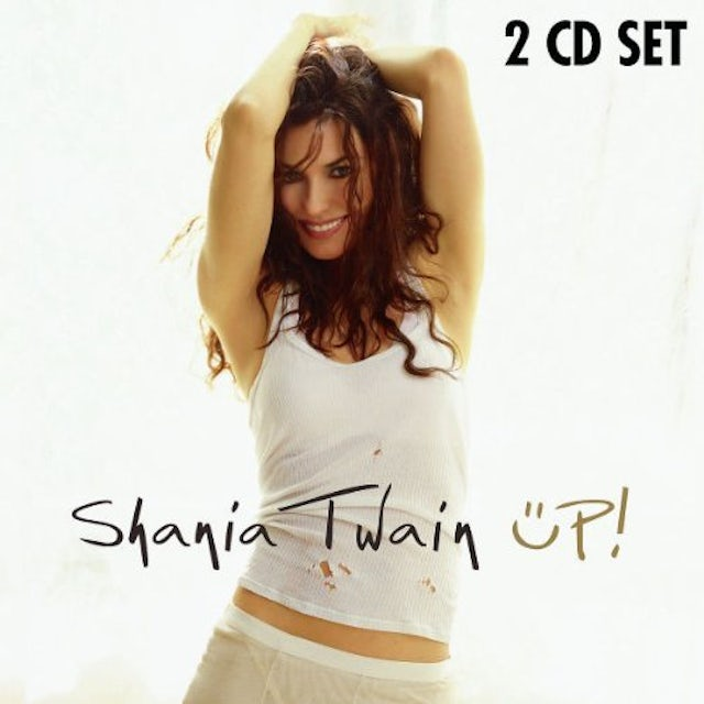 Shania Twain UP (COUNTRY & POP VERSIONS) CD