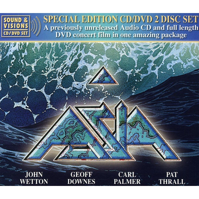 Asia BEDROCK IN CONCERT CD