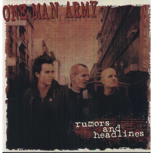 One Man Army RUMORS & HEADLINES Vinyl Record