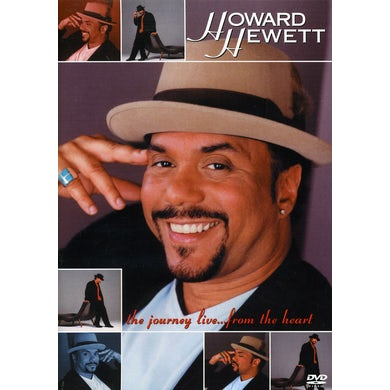 Howard Hewett JOURNEY LIVE: FROM THE HEART DVD