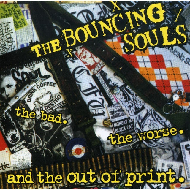 The Bouncing Souls BAD WORSE & OUT OF PRINT CD