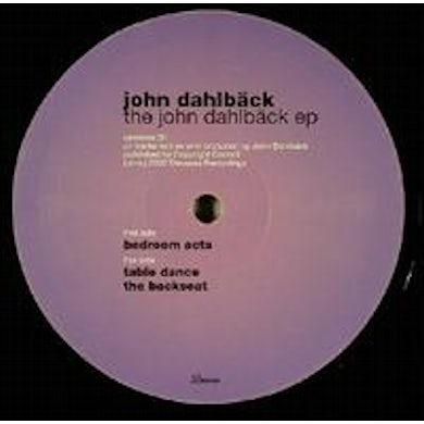 John Dahlbäck JOHN DAHLBACK EP Vinyl Record