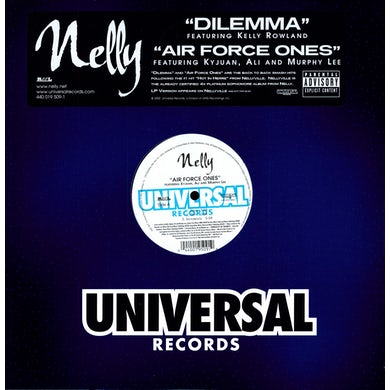 Nelly DILEMMA (X3) / AIR FORCE ONES (X3) (Vinyl)