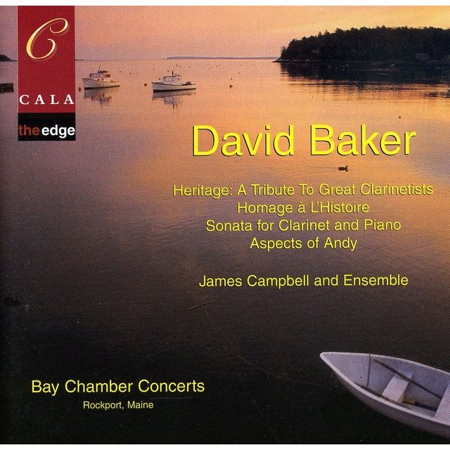 James Campbell HERITAGE: TRIBUT TO GREAT CLARINETISTS CD