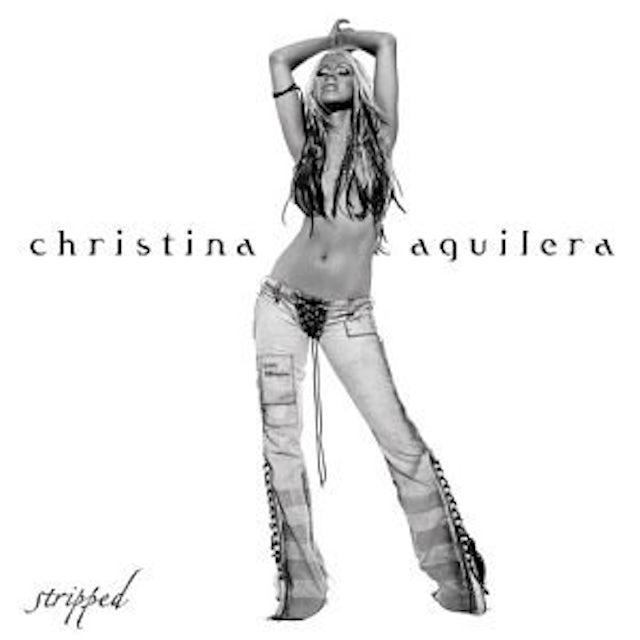 Christina Aguilera STRIPPED Vinyl Record