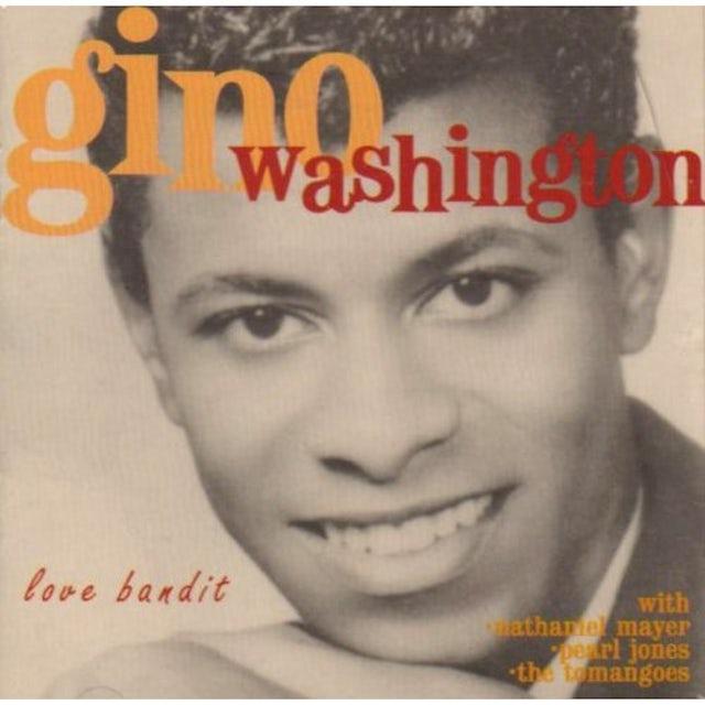 Gino Washington LOVE BANDIT CD
