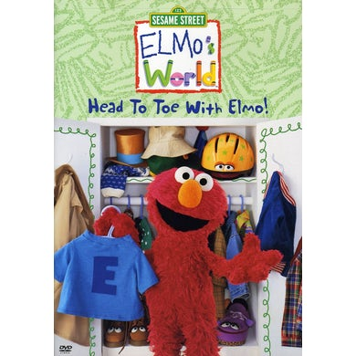 Sesame Street ELMOS'S WORLD: HEAD TO TOE WITH ELMO DVD