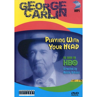 George Carlin PLAYING WITH YOUR HEAD DVD