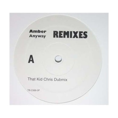 Amber ANYWAY Vinyl Record - Remixes