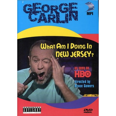 George Carlin WHAT AM I DOING IN NEW JERSEY DVD