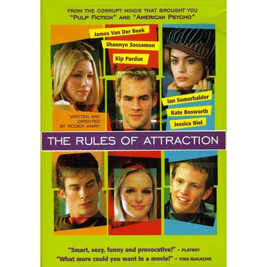 RULES OF ATTRACTION (2002) DVD