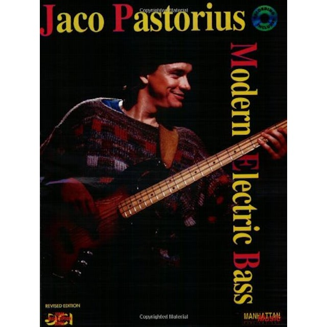 Jaco Pastorius MODERN ELECTRIC BASS (W BOOK) CD