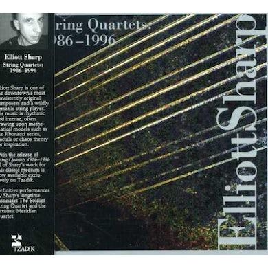 Elliott Sharp STRING QUARTET 1986-1996 CD