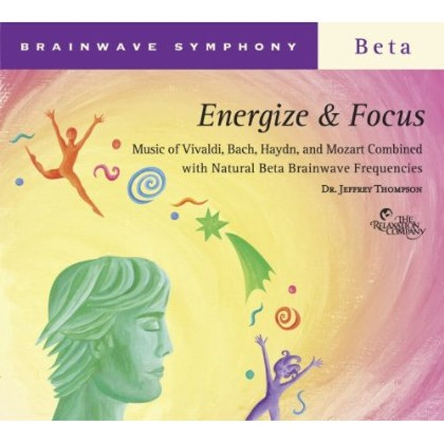 Jeffrey Thompson BRAINWAVE SYMPHONY: ENERGIZE & FOCUS CD