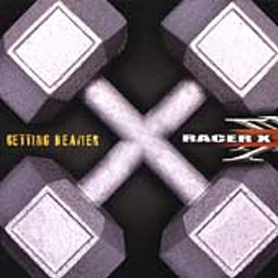 Racer X GETTING HEAVIER CD