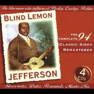 Blind Lemon Jefferson CLASSIC SIDES CD