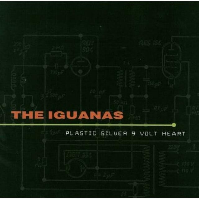 Iguanas PLASTIC SILVER 9-VOLT HEART CD