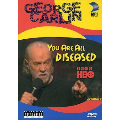 George Carlin YOU ARE ALL DISEASED DVD