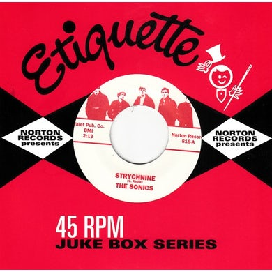 Sonics STRYCHNINE / SHOT DOWN Vinyl Record