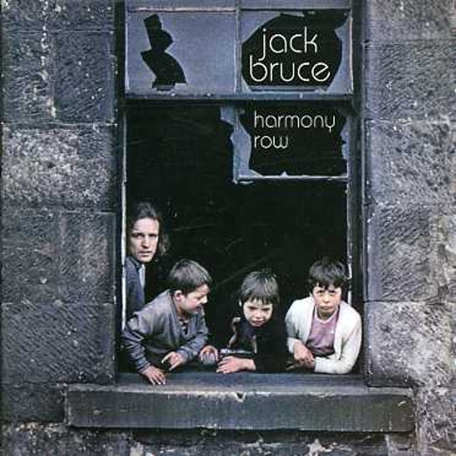 Jack Bruce HARMONY ROW CD