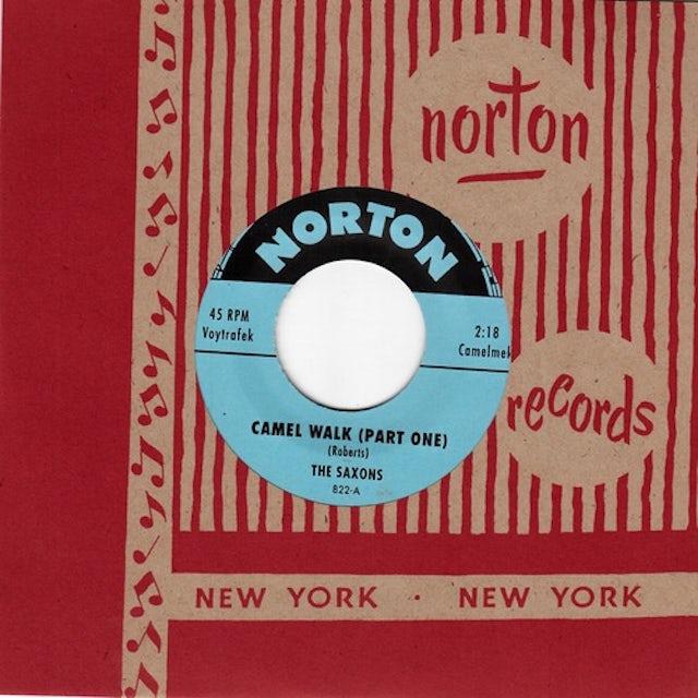 Saxons CAMEL WALK (PART ONE) / CAMEL WALK (PART TWO) Vinyl Record
