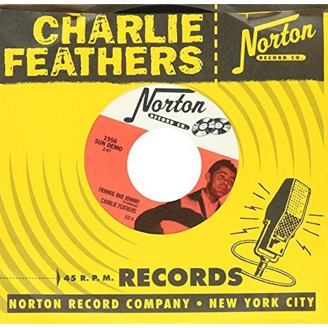 Charlie Feathers FRANKIE & JOHNNY / HONKY TONK KIND Vinyl Record