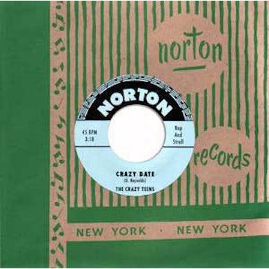Crazy Teens / Volk Brothers CRAZY DATE / WALK Vinyl Record