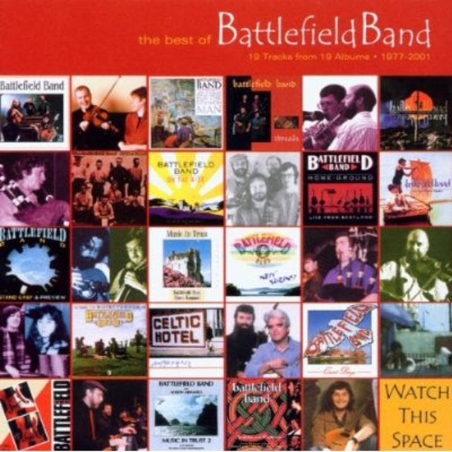 BEST OF BATTLEFIELD BAND / TEMPLE RECORDS: A 25 CD