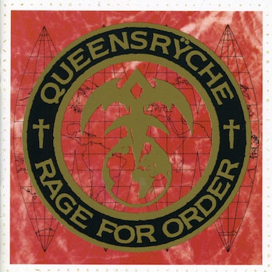 Queensrÿche RAGE FOR ORDER CD