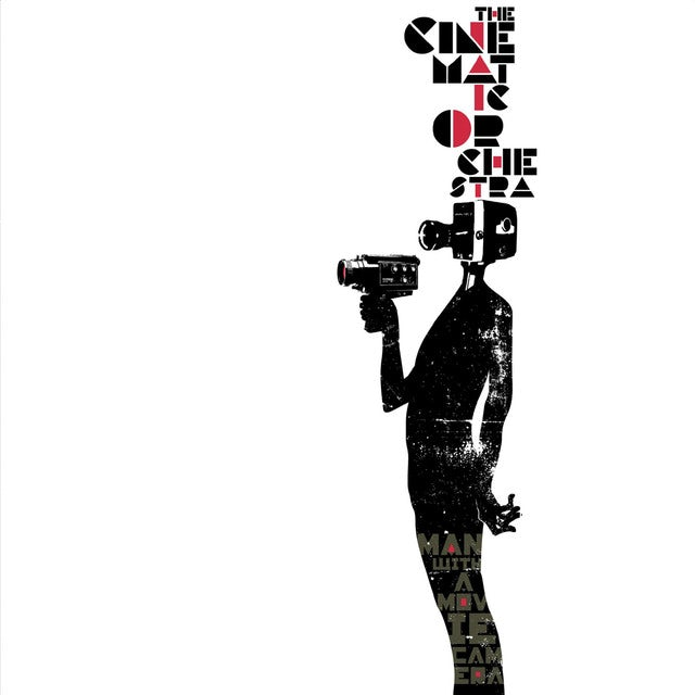 The Cinematic Orchestra MAN WITH A MOVIE CAMERA Vinyl Record