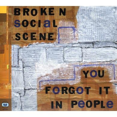 Broken Social Scene YOU FORGOT IT IN PEOPLE CD
