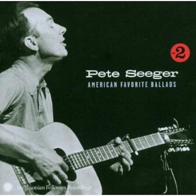 Pete Seeger AMERICAN FAVORITE BALLADS 2 CD