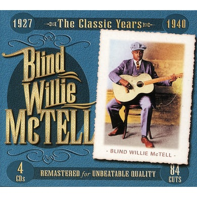 Blind Willie Mctell CLASSIC YEARS 1927-1940 CD