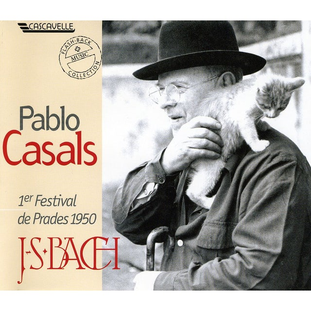 Pablo Casals FIRST PRADES FESTIVAL 1950 CD