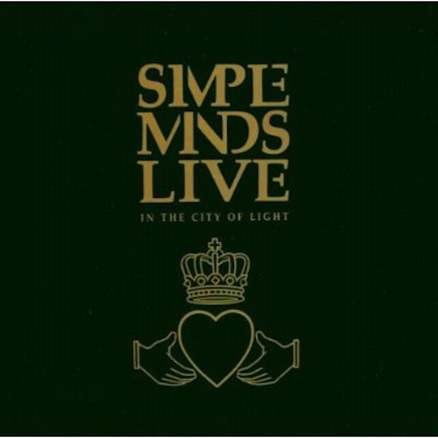 Simple Minds LIVE IN THE CITY OF LIGHT CD