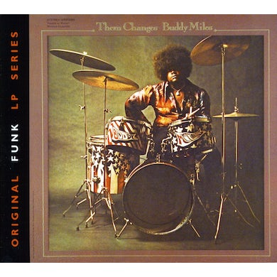 Buddy Miles THEM CHANGES CD