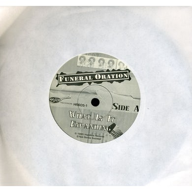Funeral Oration WHAT IS IT Vinyl Record