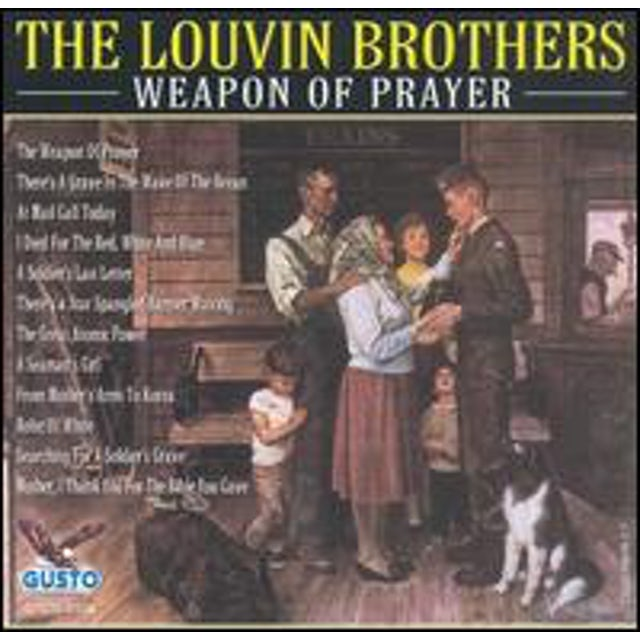 Louvin Brothers WEAPON OF PRAYER CD