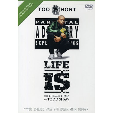 Too $hort LIFE IS: LIFE & TIMES OF TODD SHAW DVD