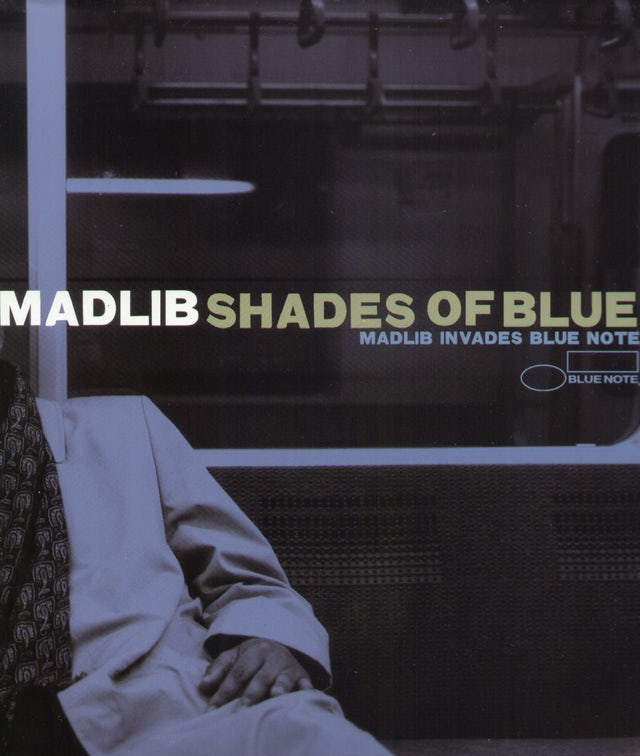 SHADES OF BLUE: MADLIB INVADES BLUE NOTE Vinyl Record