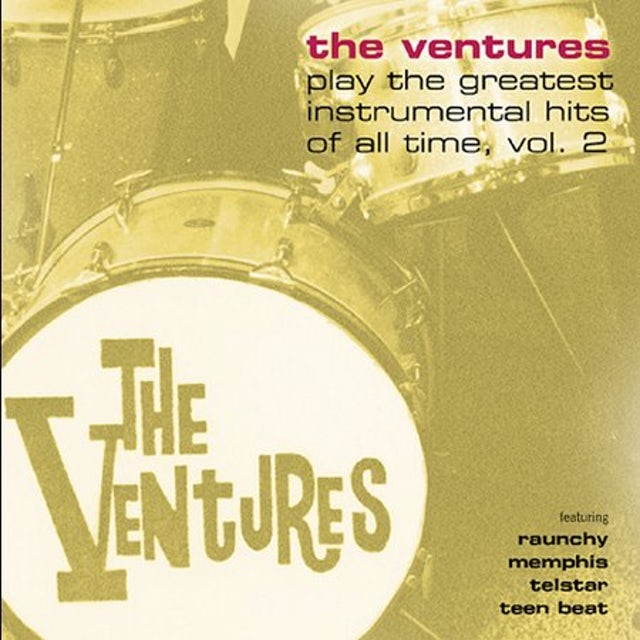 Ventures PLAY GREATEST INSTRUMENTAL HITS OF ALL TIME 2 CD
