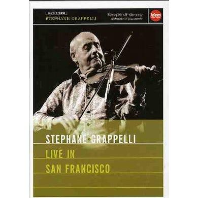 Stephane Grappelli LIVE IN SAN FRANCISCO DVD