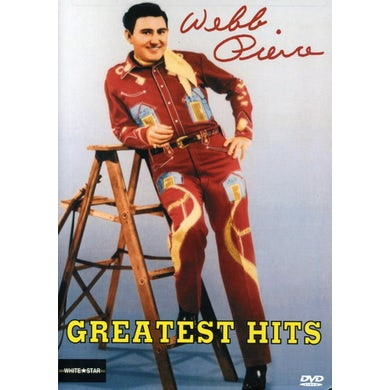 Webb Pierce GREATEST HITS DVD