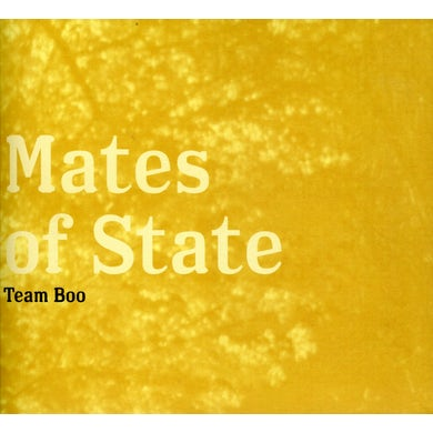 Mates Of State TEAM BOO CD