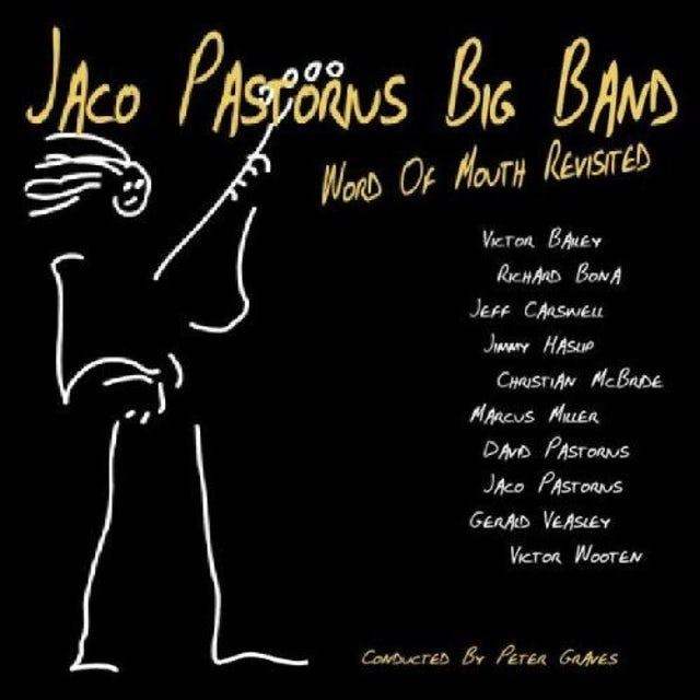 Jaco Pastorius WORD OF MOUTH REVISITED CD