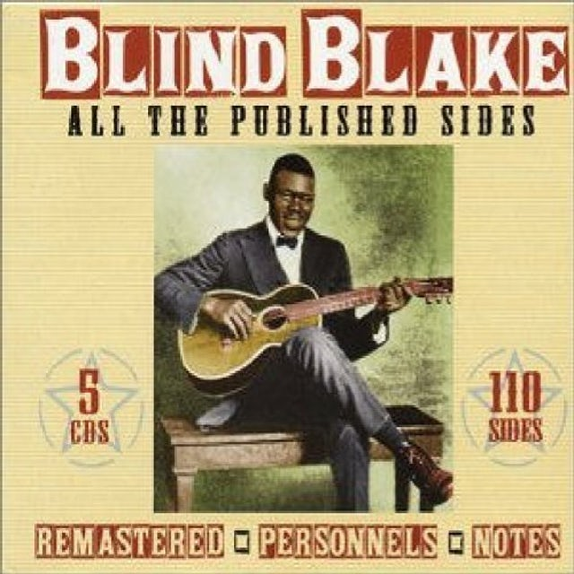 Blind Blake ALL THE PUBLISHED SIDES CD