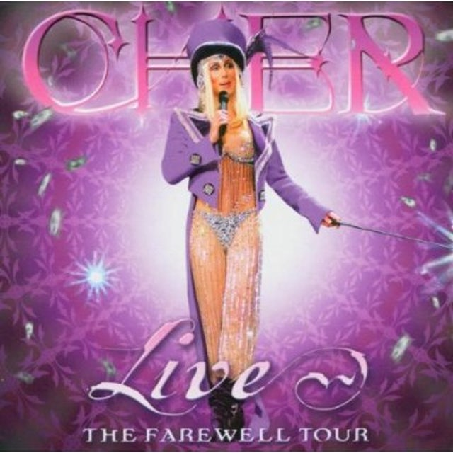 Cher LIVE: FAREWELL TOUR  (MCUP) CD - Limited Edition
