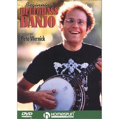 Pete Wernick BEGINNING BLUEGRASS BANJO DVD