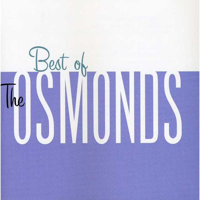 BEST OF THE OSMONDS CD